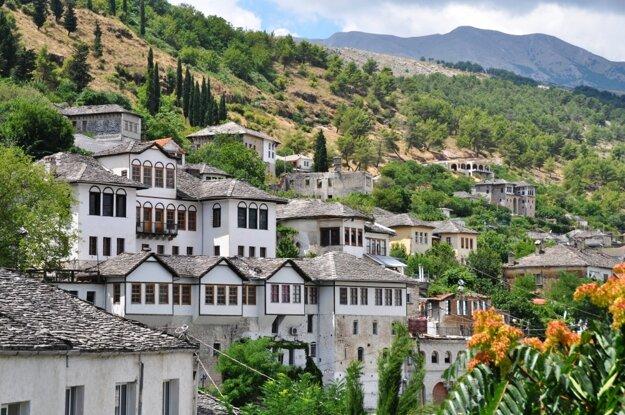 Gjirokaster a jeho staré domy