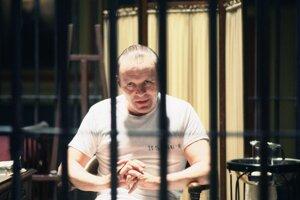 Ľudožravý Hannibal Lecter z filmu Mlčanie jahniat.
