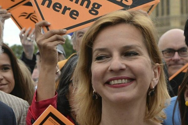 Uuroposlankyňa za stranu Liberálnych demokratov Irina von Wieseová.
