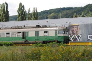 Vlaky na východe.