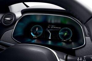 Prístrojová doska elektromobilu - Renault Zoe