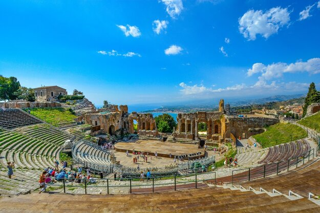 Amfiteáter v Taormine