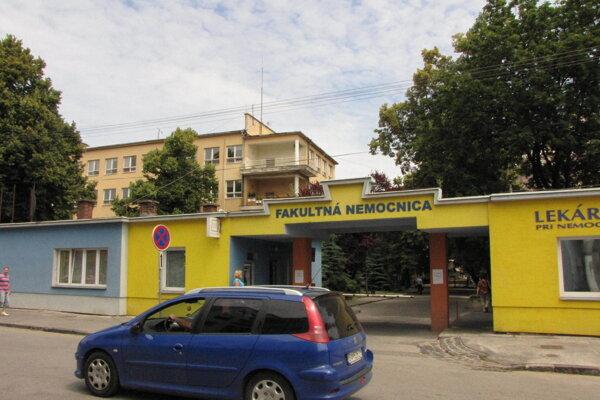 Nemocnica v Trnave.
