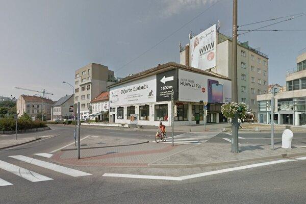 Budova Astória v centre Bratislavy.