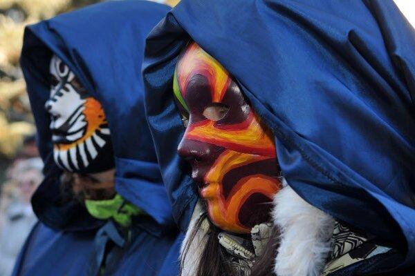 Fašiangové masky, ilustračné foto