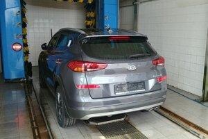 Medzi posledné kroky patrí umytie auta, ktoré sa robí pred bezprostredným odovzdaním zákazníkovi.
