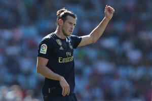 Gareth Bale sa raduje po úvodnom góle.