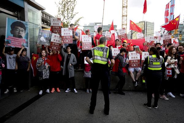 Protest v Kanade.