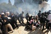 Minulý týždeň došlo k potýčkam medzi moslimskými veriacimi a izraelskou políciou.