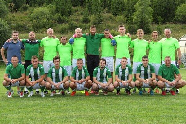 Futbalisti FK Tatran Turzovka.