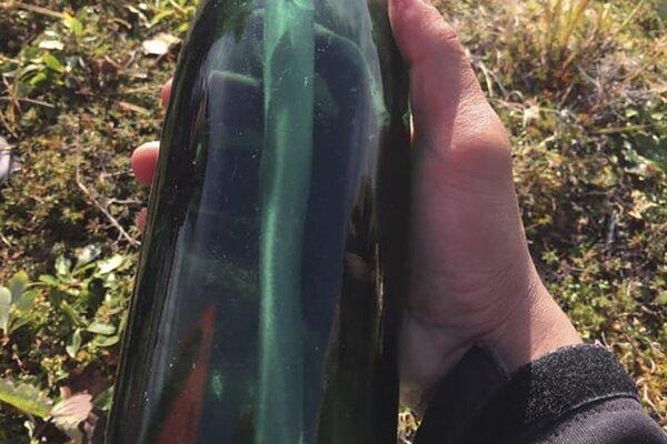 Američan našiel po pol storočí fľašu s listom od sovietskeho námorníka