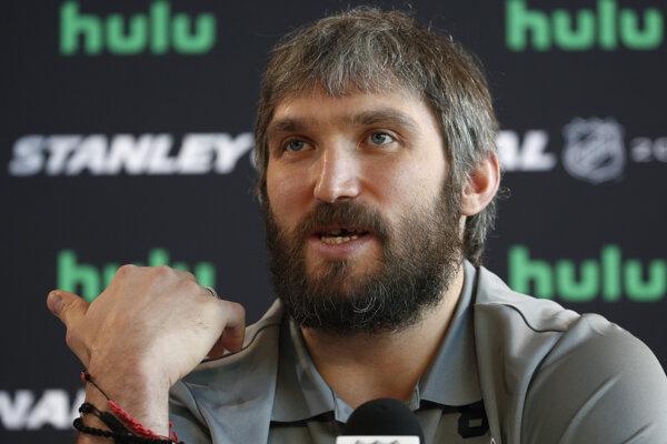 Kapitán Washingtonu Capitals Alexander Ovečkin.