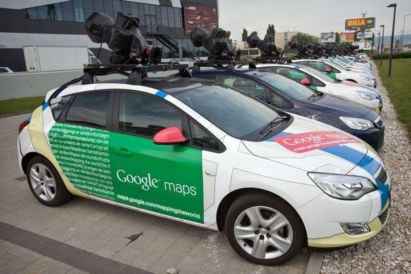 Auto Google na Slovensku.
