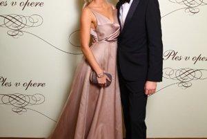 ROman Juraško s priateľkou Dianou Hágerovou
