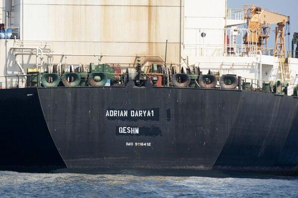 Iránsky tanker Adrian Darya 1.