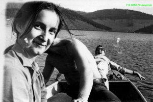 Architektova neter Kristína Mihoková v lete v auguste 1968.