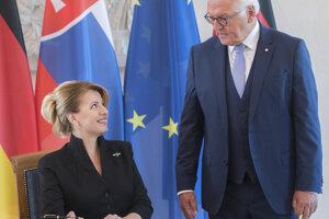 Na prínos Slovákov k pádu Berlínskeho múru 9. novembra 1989 sa nezabúda, napísal Steinmeier slovenskej prezidentke.