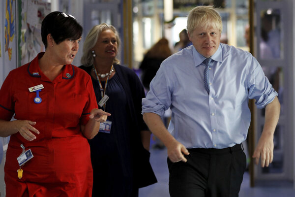 Britský premiér Boris Johson.