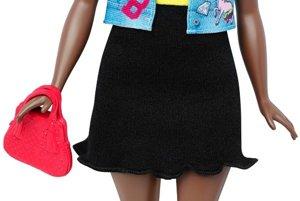 Bábika Barbie Fashionistas s krivkami