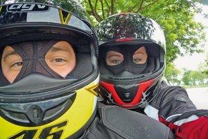 Zuzka s Martinom milujú jazdu na motorke, spravili si už výlet do Chorvátska aj Talianska