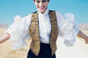 Anne Hathawayová pre Vogue