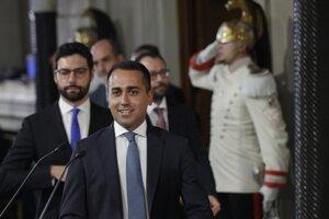 Líder Hnutia piatich hviezd Luigi Di Maio.