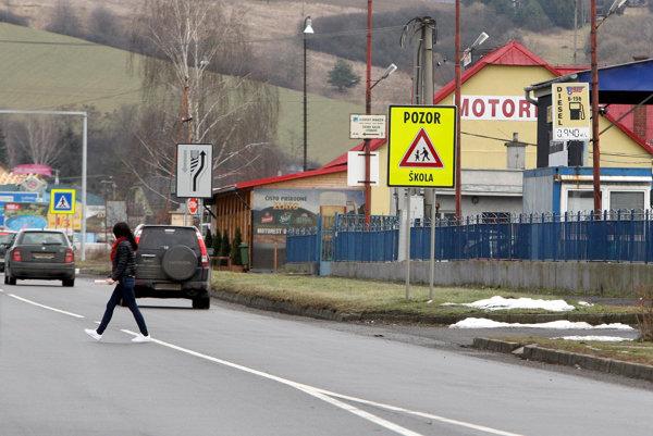 Cesta v Kriváni.