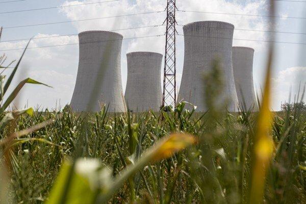 Jadrová elektráreň Dukovany.