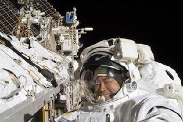 Jeden z výstupov do kozmu na ISS.