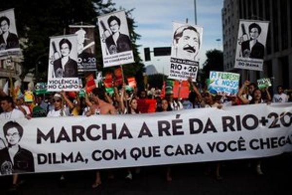 Krajiny chcú v brazílskom Riu hovoriť o budúcnosti našej planéty.