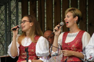 V programe vystúpila Dychová hudba Maguranka.