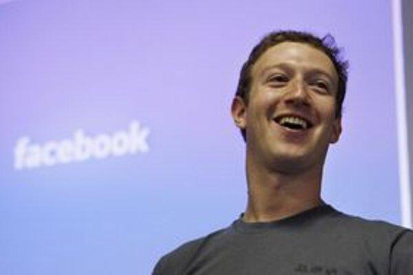 Majiteľ Facebooku Mark Zuckerberg.