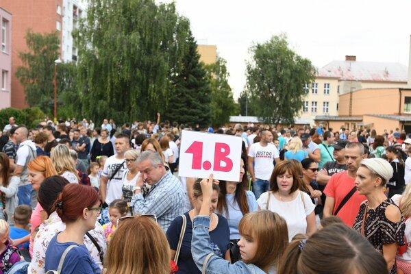 Slávnostné otvorenie školského roka 2019/2020 v Starej Turej.