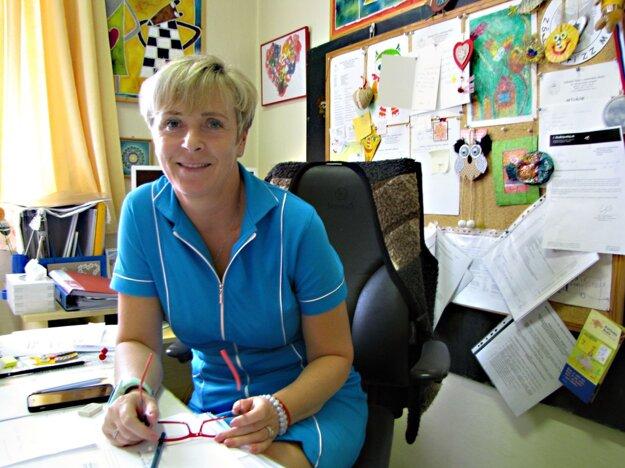 Renáta Šmáliková, riaditeľka Základnej školy s materskou školou pri zdravotníckom zariadení.