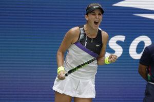 Belinda Bencicová na US Open 2O19.