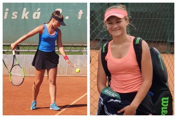 Nelly Vighová si zahrala na turnaji ITF v Bratislave.