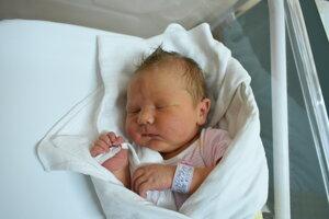 Melissa Sedláčková (3590 g, 52 cm) sa narodila 28. augusta Henriete a Petrovi z Nemšovej.