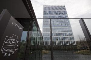 Budova európskeho justičného orgánu Eurojust v Haagu.