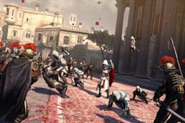 V najznámejších súčasných hrách najmä bojujete. V Dragon Age s príšerami, v Assassin's Creed s templármi a v Halo: Reach s mimozemšťanmi.