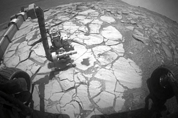 Mars, ako ho videla sonda Spirit.