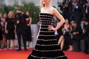 Herečka  Cate Blanchett.