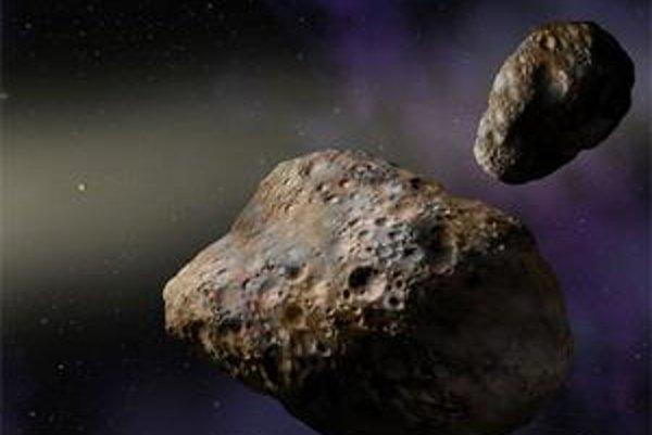 Dva asteroidy preletia krátko po sebe neďaleko Zeme.