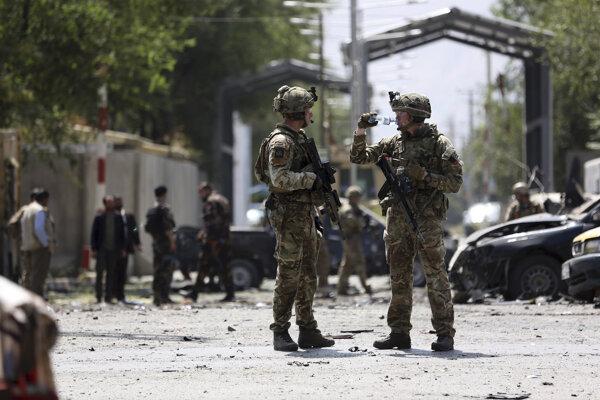 Americkí vojaci v Afganistane.
