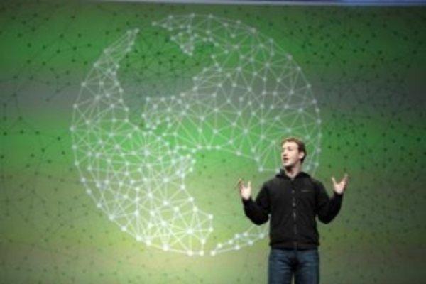 Zakladateľ a šéf sociálnej komunikačnej siete Facebook  Mark Zuckerberg.