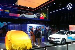 Autosalón Frankfurt 2019 - stánok Volkswagen