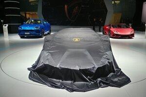 Autosalón Frankfurt 2019 - stánok Lamborghini