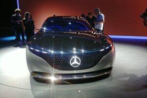 Autosalón Frankfurt 2019 - Mercedes Vision EQS