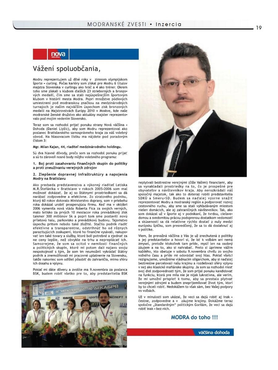 Milan Kajan, bývalý riaditeľ bratislavského letiska