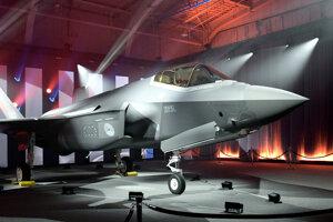 Stíhačka F-35.