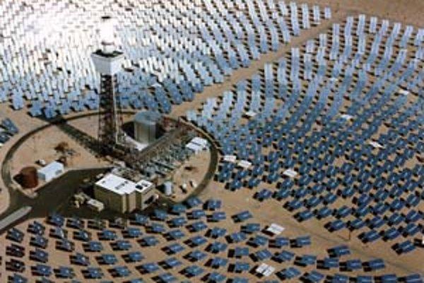 Inšpiráciou pre austrálsku solárnu vežu bola aj slnečná elektráreň v americkej púšti mojave.